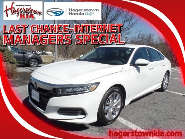 Certified Pre Owned 2018 Honda Accord LX