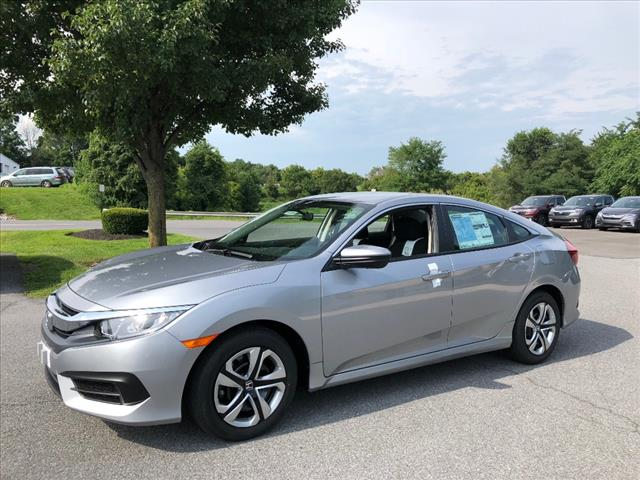 New 2018 Honda Civic 2.0L 4D LX