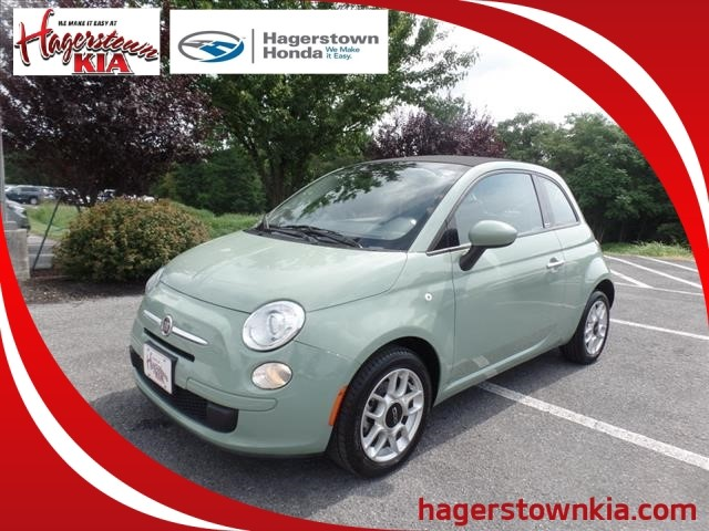 Pre-Owned 2013 FIAT 500c Pop