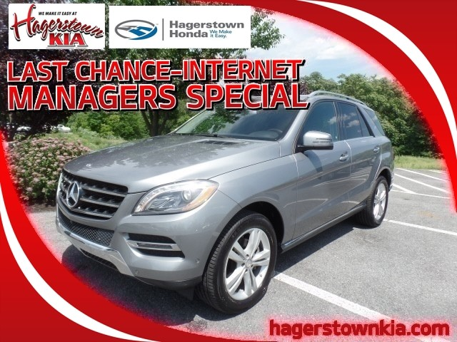 Pre-Owned 2014 Mercedes-Benz ML 350 ML 350 4MATIC®