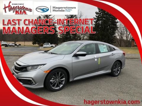 New 2019 Honda Civic 1.5T 4D EX