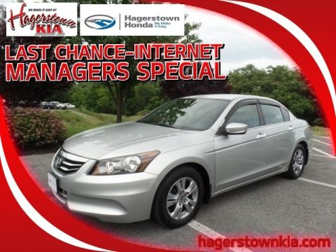 Pre-Owned 2012 Honda Accord LX-P 2.4