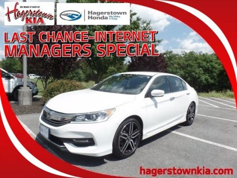 Certified Pre-Owned 2016 Honda Accord Sport w/Honda Sensing