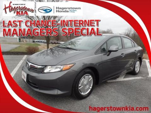 Pre-Owned 2012 Honda Civic HF