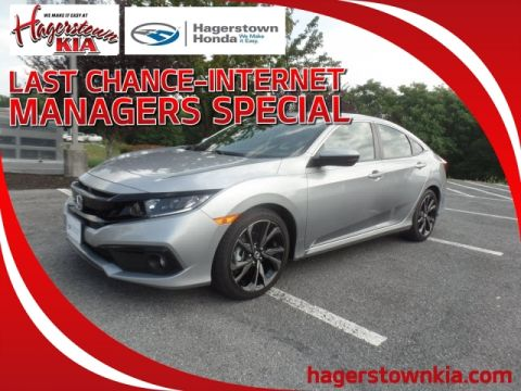 New 2020 Honda Civic 2.0L 4D SPORT