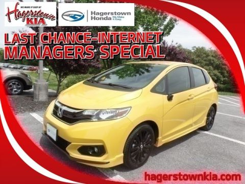 Certified Pre-Owned 2018 Honda Fit Sport