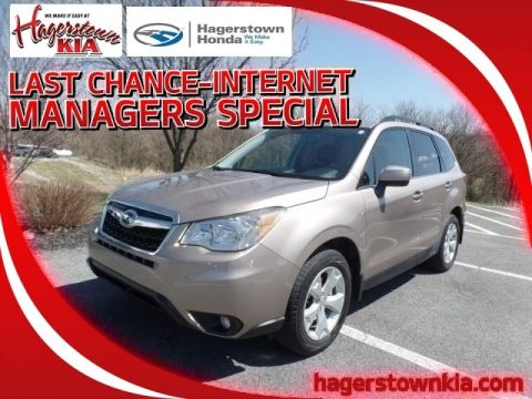 Pre-Owned 2015 Subaru Forester Limited
