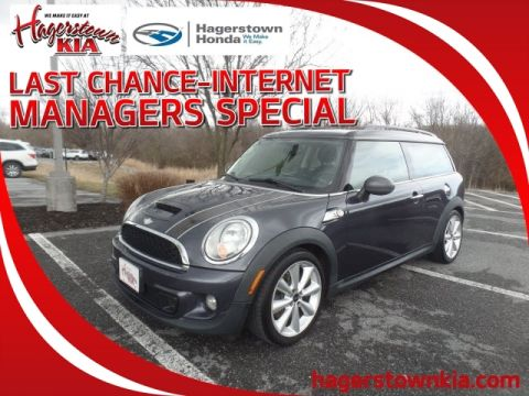 Pre-Owned 2012 MINI Cooper S